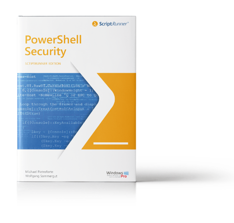 Cover-Mockup of the PowerShell Security Guide