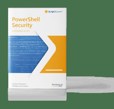 Abbildung des PowerShell Security E-Books